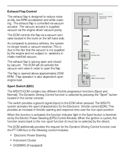 motorsteuerger t klappensteuerung f r abgasklappe. Black Bedroom Furniture Sets. Home Design Ideas