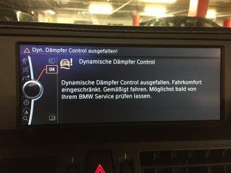 Dynamische D 228 Mpfer Control Ausgefallen Bmw Hat Keine