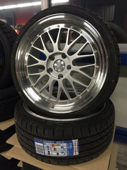 Bbs Lm Design Felgen Ultra Wheels Ua3 8 5 Amp 9 5x19