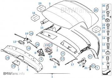 verdeckmechanismus defekt beim einrasten bmw z1 z2 z3 z4 z8 m mini roadster coupe. Black Bedroom Furniture Sets. Home Design Ideas