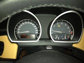 Gelbe Motorwarnleuchte Bmw Z4