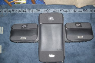 bmw z4 e85 roadsterbag kofferset dreiteilig bmw z1 z2 z3 z4 z8 m mini. Black Bedroom Furniture Sets. Home Design Ideas