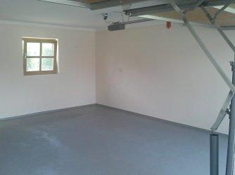 garage von innen streichen