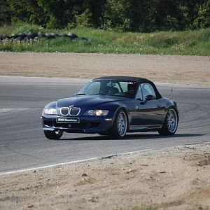 A great day with the Z3 on the race track