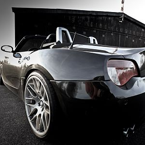 BMW Z4 roadster 3.0si black