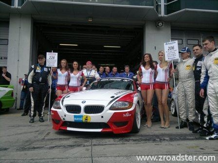 zracing team 24h 2012