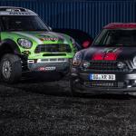 MINI ALL4 Racing und MINI Countryman X-raid Service-Fahrzeug (11/2012)