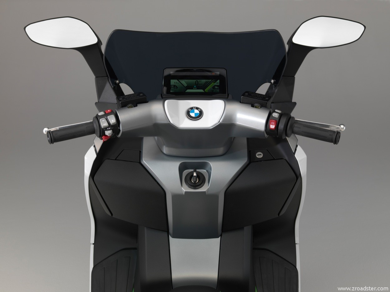bmw c evolution der elektroscooter von bmw zroadster. Black Bedroom Furniture Sets. Home Design Ideas